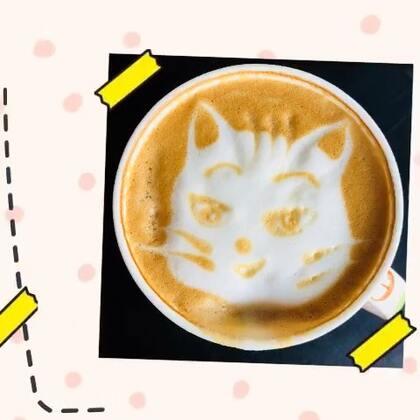 咖啡表情猫!🐱From:波点主题馆☕️坐标:北京.朝阳区.红庄国际文化保税创新园D-2-1 #精选#