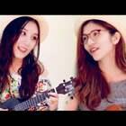 和@小凤爱guitar 第一次合体演唱Twins经典 《下一站天后》/《莫斯科没有眼泪》🎸 尤克里里弹唱伴奏 [爱你]不一样感觉 单反拍真的是要命🙈大脸全暴露! 给我勇气 赞赞@美拍小助手 @音乐频道官方账号 @小小鳳尤克里里 #i like 美拍##音乐##精选#
