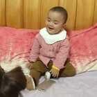 爱笑的宝宝😘😘😘