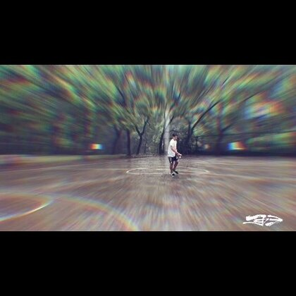 雨中漫步跑酷😏#运动##精选##长沙#