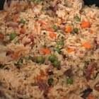 #美食#一锅端的米饭,省的炒菜省的拿盘子,特别特别适合懒人!加点生抽加点盐就能做出一锅好吃的米饭🍚。#云朵的食光记##家常菜#