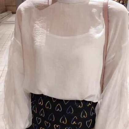 今天穿了仙女上衣 超美超喜歡 😍😍 #穿秀#