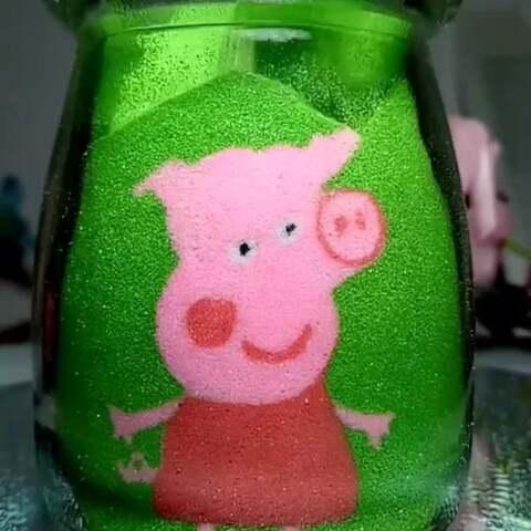 【念沙沙画美拍】怎么会爱上小猪佩奇@美抓抓小助...
