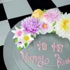 送给美拍上朋友,希望你们开开心心#i like 美拍#同时也祝自己19岁生日快乐❤️#蛋糕#