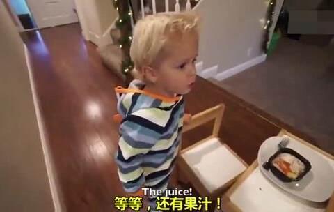 【一千次暖心实验美拍】美国加利福利亚的3岁小宝宝Tydus...