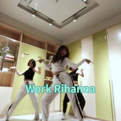 #舞蹈##mina myoung编舞# Rihanna—Work 请忽略我的粉袜子(微笑脸)@弓晓雪-Miya @AS24-萌萌Menmen