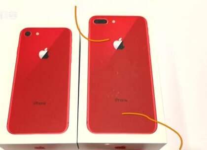近日科客君拿到了刚上市的苹果iPhone 8和iPhone 8 Plus红色特别版,在配色上采用个性张扬的鲜红色机身与内敛的黑色屏幕面板,让这款特别版的iPhone 8和iPhone 8 Plus显然更加酷。