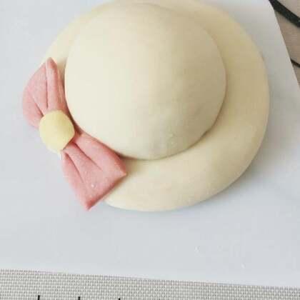 自制#凉帽花样馒头#,操作简单快捷,推荐尝试,馒头变个花样,看起来更美哦😝#自制美食#