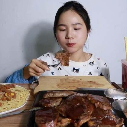 (1) 来挑战一下十份牛排~ 原速链接:http://www.bilibili.com/video/av22464534#吃秀#