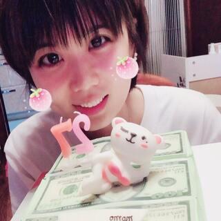#生日快乐#happy birthday to me☺@大杂院的羊宝 @美拍小助手