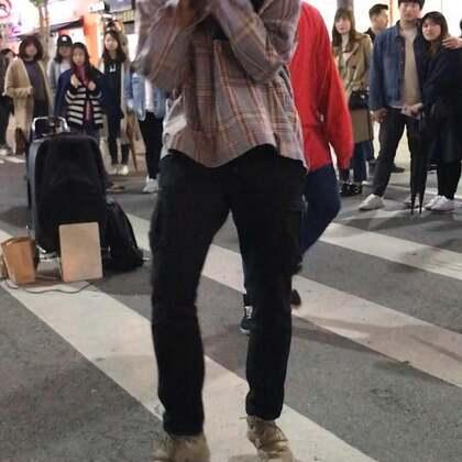 #dob##dob朴镇##高颜值# 180414新村公演 BTS -DNA 喜欢叔叔跳这个舞 帅 你要击掌就击掌 不要玩姐姐好吗😂😂
