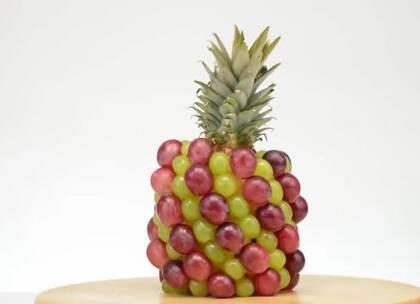 7个水果蔬菜趣味切割技巧#手工#