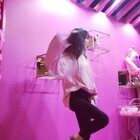 #lady#这么粉的地方要跳舞哈哈哈??我也变成粉色的~~#精选##舞蹈#