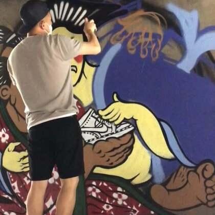 #涂鸦##graffiti#许久未做的浮世绘,下一站:厦门。