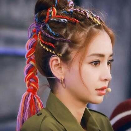 angelababy换新发型!太雷人了!#时尚##美妆##气质微课堂#