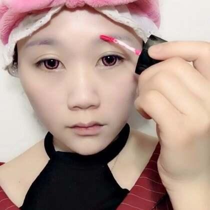 #美妆#一只唇釉搞定整个妆。#原宿风#