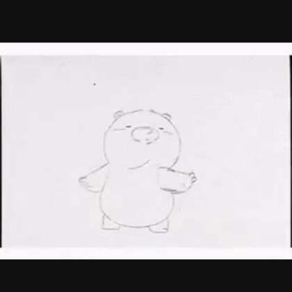 然后任意打开一首歌,然后看着这只熊感受一下🤓