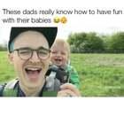 看看国外爸爸们带孩子是怎么样的?😂 第一第二个简直没谁了,太有才了!😂 #外国视频精选#