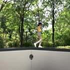 穿越到小人国世界的少女~@美拍小助手 #自拍#
