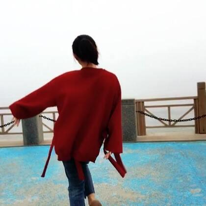 一个大雾傍晚的海边#日常# 看我疯你们是不是不习惯,不要说我 要点赞❤️哈~比心❤️