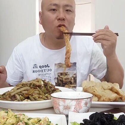 2018.5.9星期三晚饭吃媳妇给做的一锅鲜!