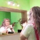 甜心的一镜到底粉扑舞💗#粉扑舞#