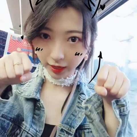 【李子溪BERRY_美拍】#学猫叫手势舞##我要上热门##精...