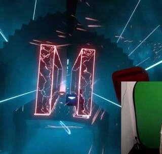 VR音游《Beat Saber》来感受一下更带感的连击!点赞!点赞!点赞!😘
