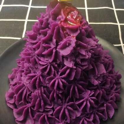 #紫薯泥##美食##热门#