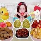 治愈系椰枣!小清新姑娘果!坏小子释迦果!还有还有......今天被我吃掉的水果你们有没有吃过呀?#大胃王密子君##吃秀##美食#