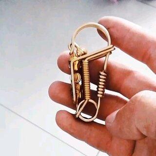 手工钥匙扣制作大全图解_手工不锈钢钥匙扣图解