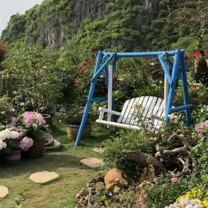 如果你有这样的一个院子!❤