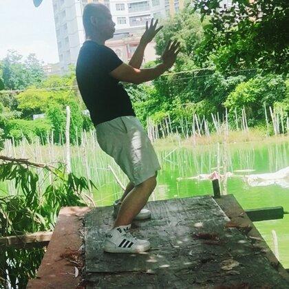 湖塘春色#咏春拳#视频辅导,教练微信18718707107