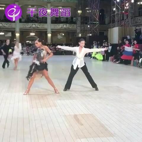 【千夜舞蹈美拍】你们的俄罗斯拉丁小男神和小女神...