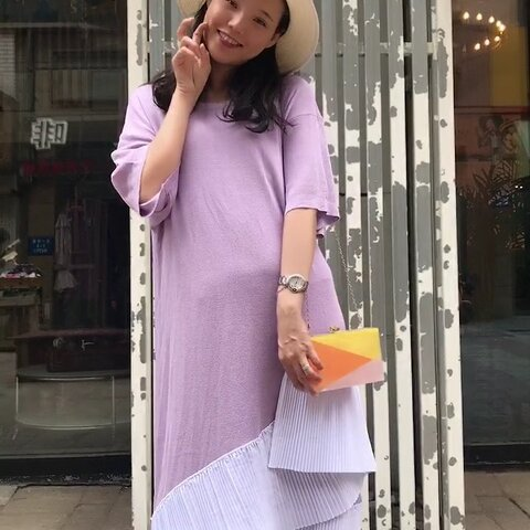 【莹莹搭配师美拍】#精选##穿秀#今天安利一款连衣裙...