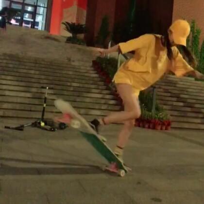 美女跳的不错👍#滑板女孩##精美电影##舞蹈#