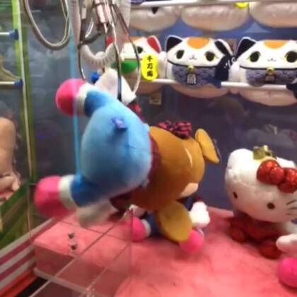 第150更| 一波操作猛如虎,最后还是哈哈哈哈哈还是靠运气啦!#抓娃娃技巧#