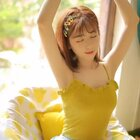 黄色柠檬树下 夏日的酸甜 拧出的新鲜🍋摄影@Sa娇_Sa娇 #夏日森系妆容##日系少女##我要上热门@美拍小助手#