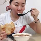 #吃秀#安庆馄饨配糖饼,就爱这么搭