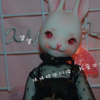 #bjd小剧场# 兔兔可以说是巨可爱的了(´・ω・`)抱紧所有ee,各位多多指教!想上一次热门不知道可不可以( ;´Д`)来来来pink me
