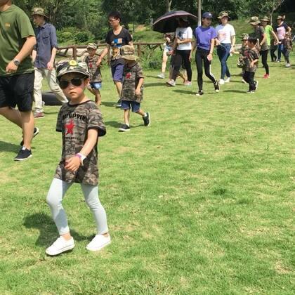 #幼儿园秋游#野外训练营#莉莉##宝宝##运动#2018.5.19
