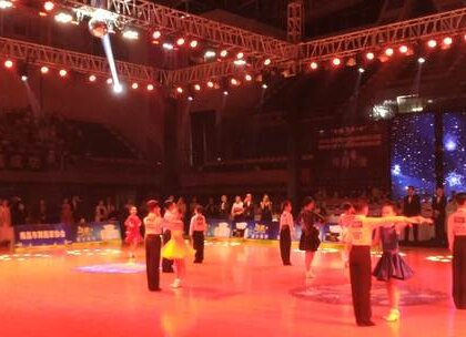 中顺洁柔杯2018江西省国标舞公开赛12岁以下决赛牛仔