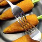 胡萝卜豆沙包#美食##我要上热门#