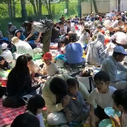#日志@海外华人生活日常##日本学校运动会##日本旅游#集体食堂~~啊哈哈@叫我小爱就好!