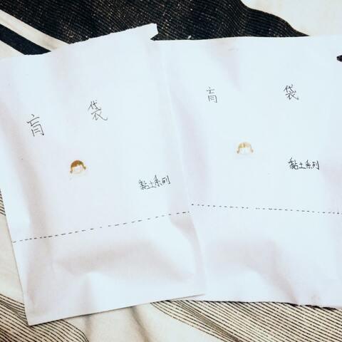 刚做好的两个手工盲袋@安微陌#自制盲袋