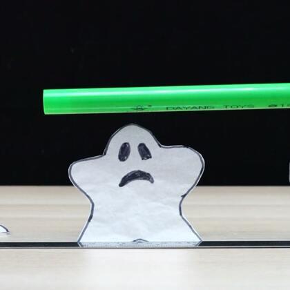 #手工#爱跳尬舞的小精灵,一碰它就站起来扭几下,样子太逗了#尬舞##科学小实验#