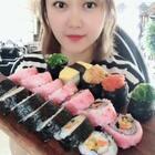 #美食#寿司🍣..自己在家也能做花样寿司.....一口一个.超级满足
