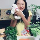 """丽奈汉语学习第三节课 😁学唱儿歌""""小白兔""""😘小伙伴们小白兔可爱嘛?😂@美拍小助手 @小慧姐在日本 #宝宝##精选##宠物#"""