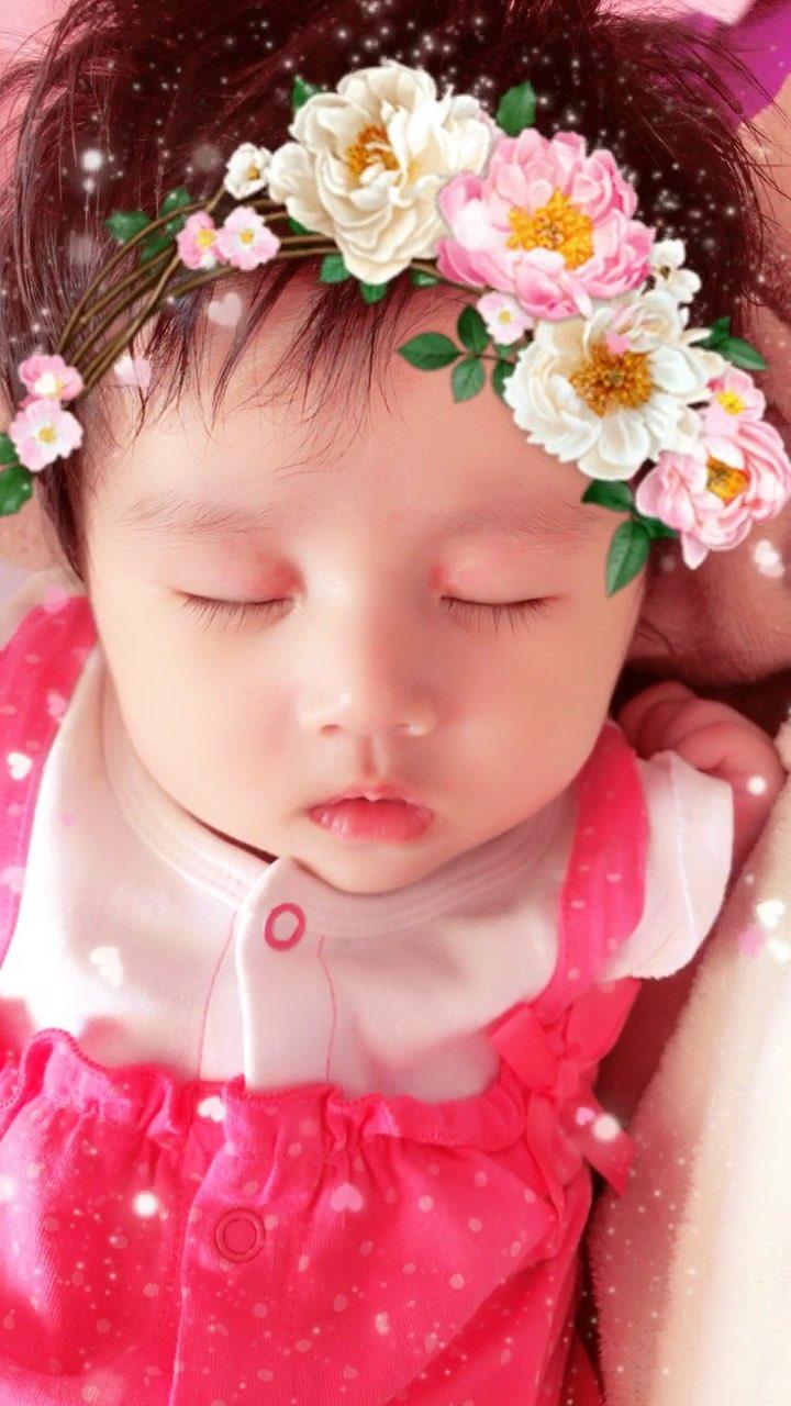 翻到星星3个多月睡着的视频,当时她眼皮上面还红红的,经常有宝 ...