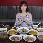 原来香港的美女对美食的味道是有讲究的!#大胃王密子君##吃秀##美食#